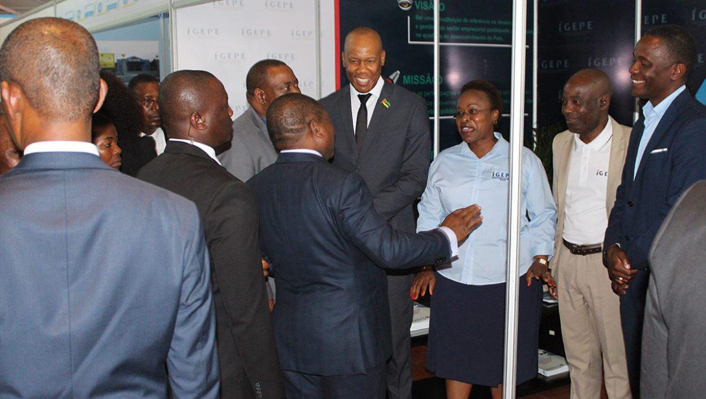 Presidente da República visita stand do IGEPE na FACIM